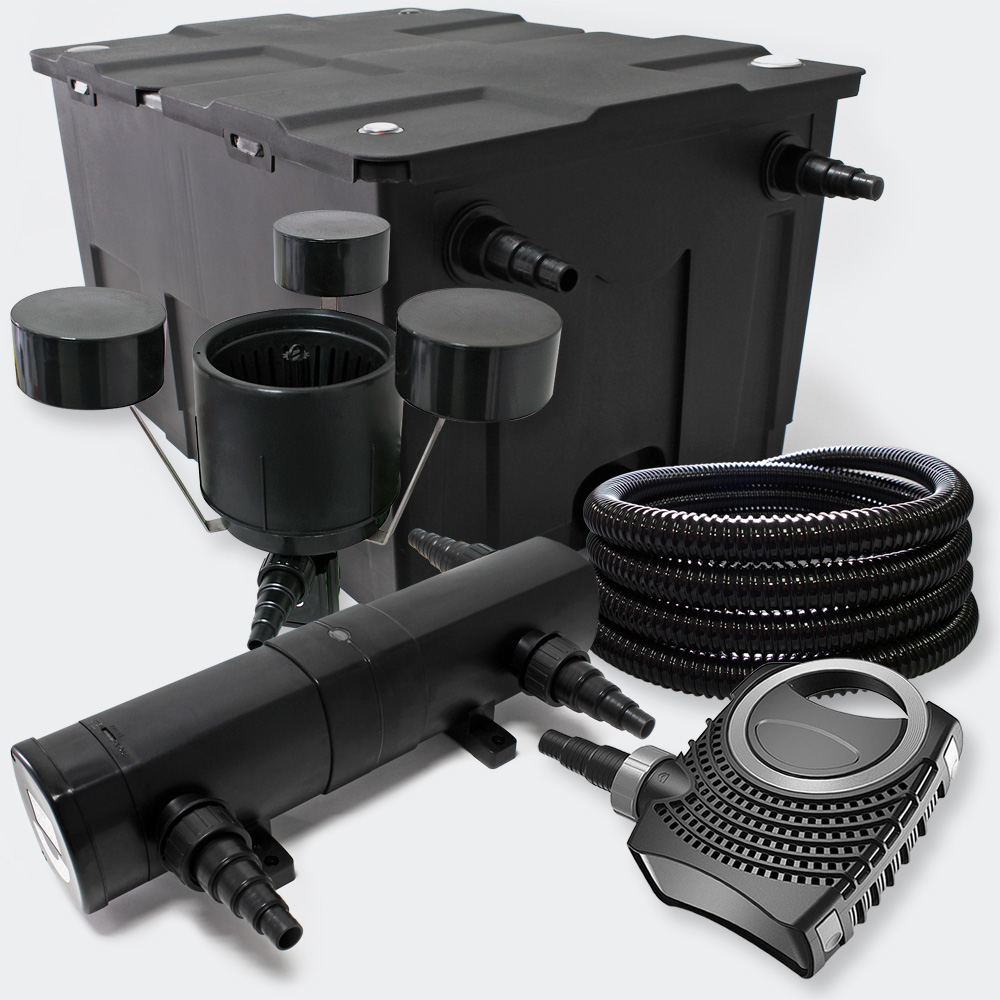 Wiltec Filter Set Bio Pond Filter 60000l 36w Uv