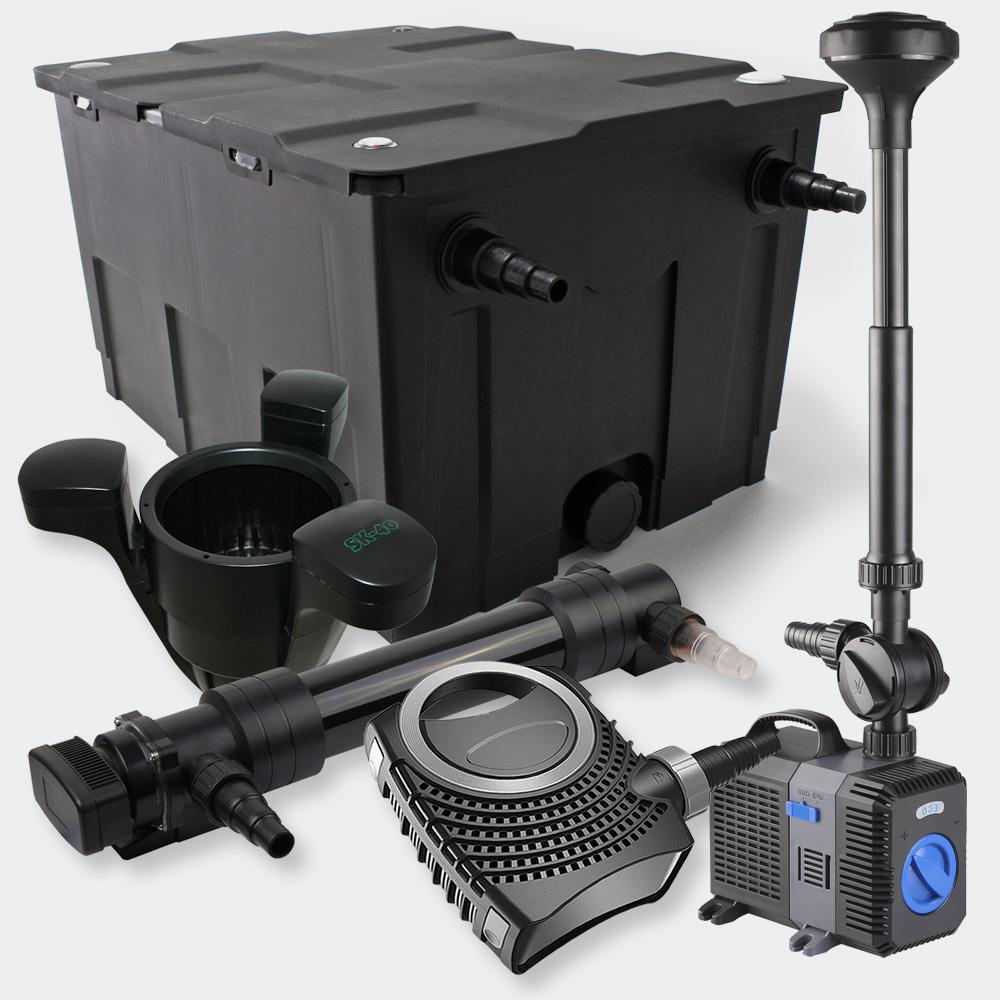 Wiltec Filterset 60000l 36w Uvc Pond Clarifier Pump 80w
