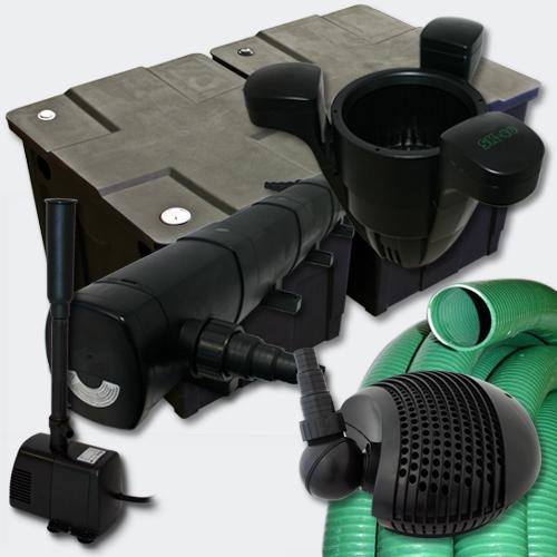 filter set teichfilter 60000l 72w uvc teichkl rer pumpe springbrunnenpumpe 376 kaufen bei. Black Bedroom Furniture Sets. Home Design Ideas