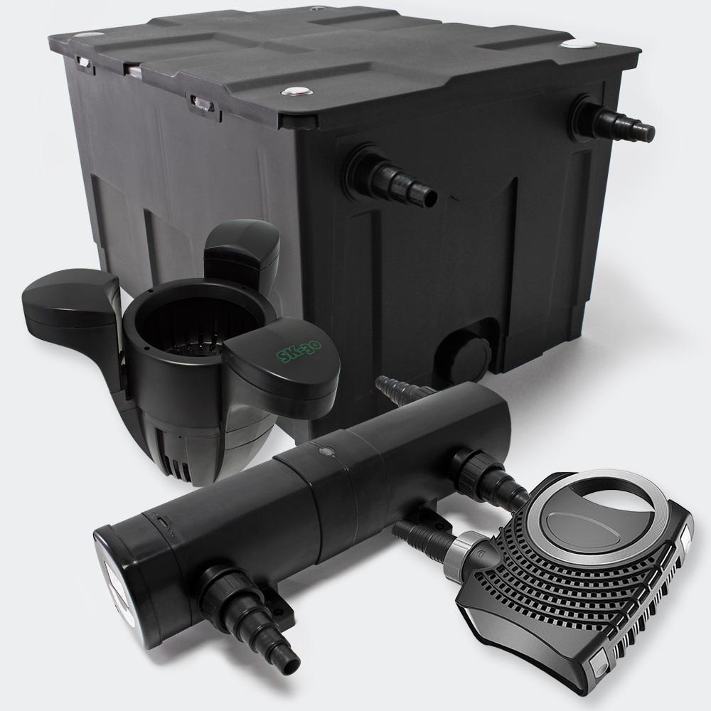 Wiltec Set Pond Filter 60000l 18w Uvc Clarifier 115w