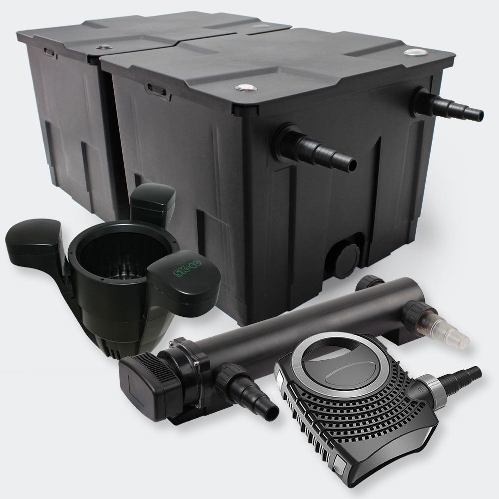 Wiltec Filter Set 60000l 36w Uvc Pond Clarifier 10000