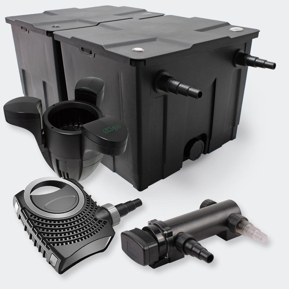 Wiltec Filter Set 60000l 18w Uvc Pond Clarifier 8000 70w