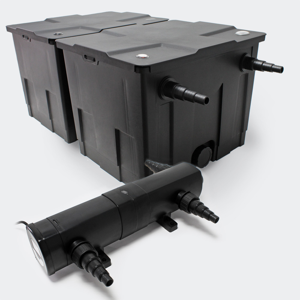 set sunsun 60000l bio teichfilter 36w uvc teichkl rer. Black Bedroom Furniture Sets. Home Design Ideas