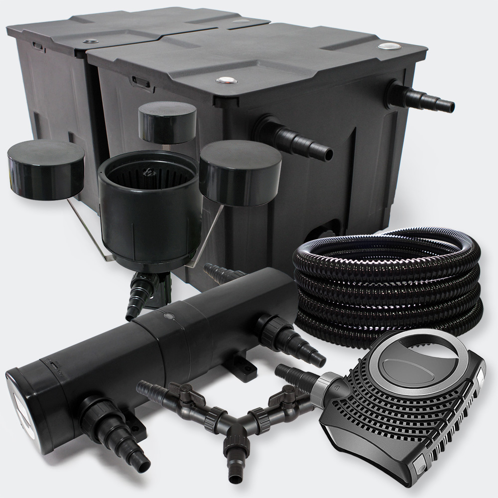 wiltec sunsun filterset 60000l mit 18w uvc 70w eco pumpe. Black Bedroom Furniture Sets. Home Design Ideas