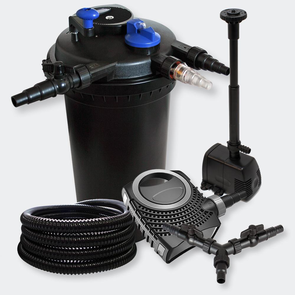Wiltec Kit Filtration Bassin Pression 30000l 18w Uvc 70w