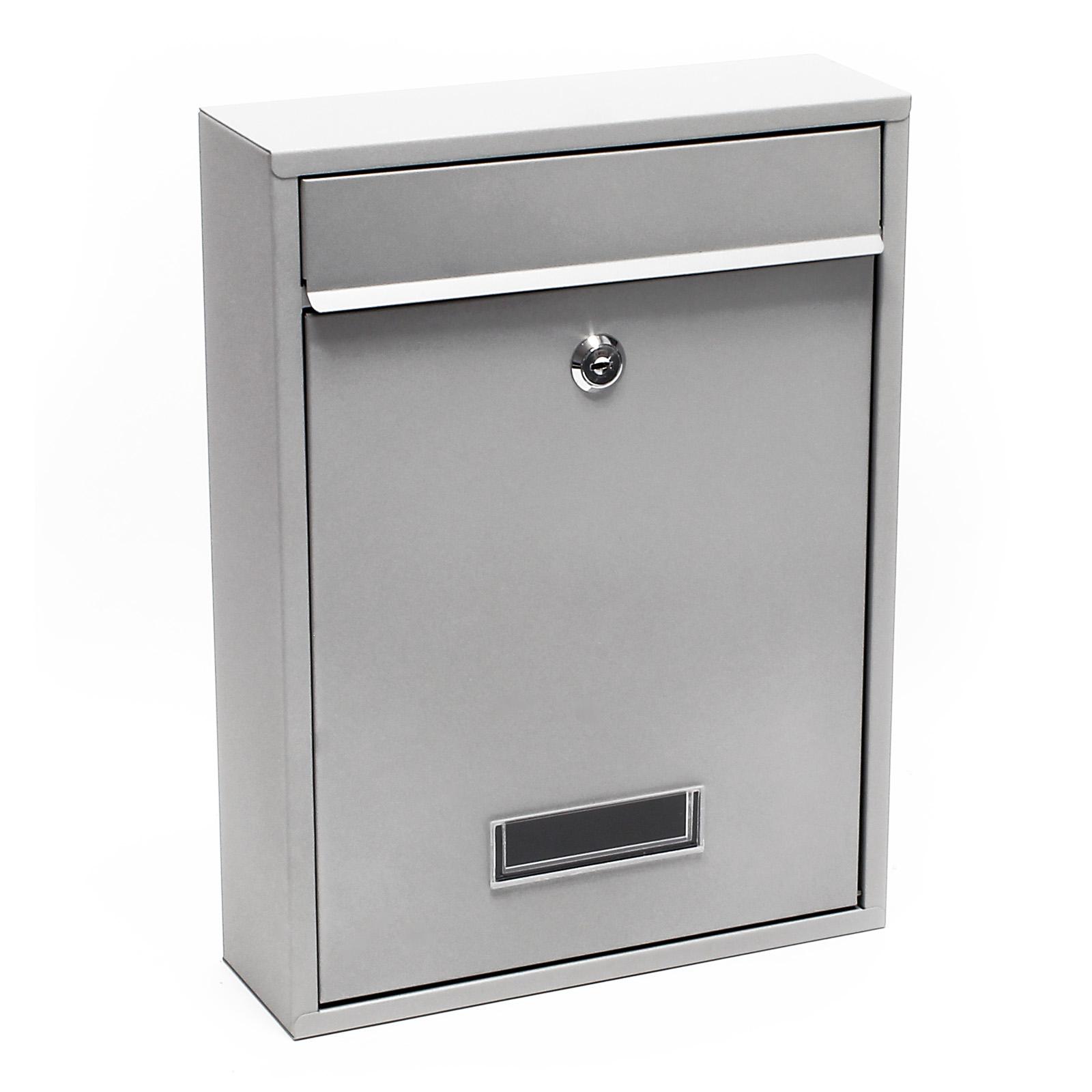 Moderner Briefkasten moderner design briefkasten v7 edelstahl wandbriefkasten gebürstet zeitungsrolle ebay