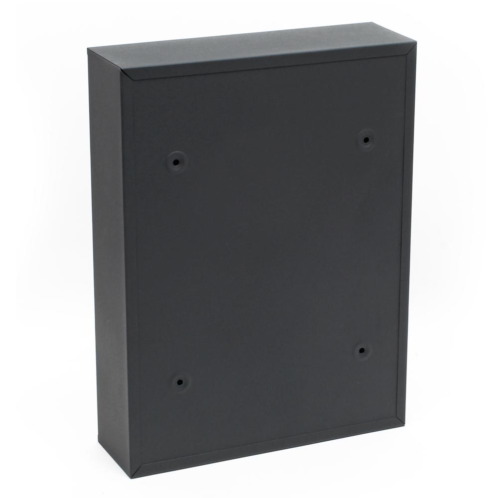briefkasten wandbriefkasten briefkastenanlage anthrazit pulverbeschichtet v11 ebay. Black Bedroom Furniture Sets. Home Design Ideas