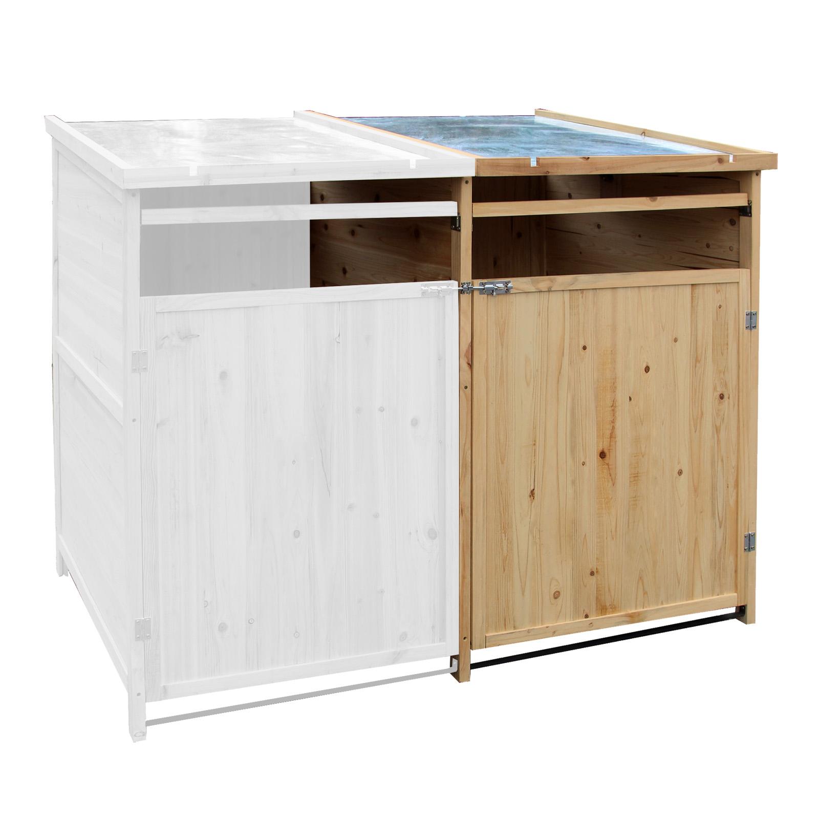 m lltonnenbox holz 240 l gartenbox m lltonnenverkleidung m lltonne ebay. Black Bedroom Furniture Sets. Home Design Ideas