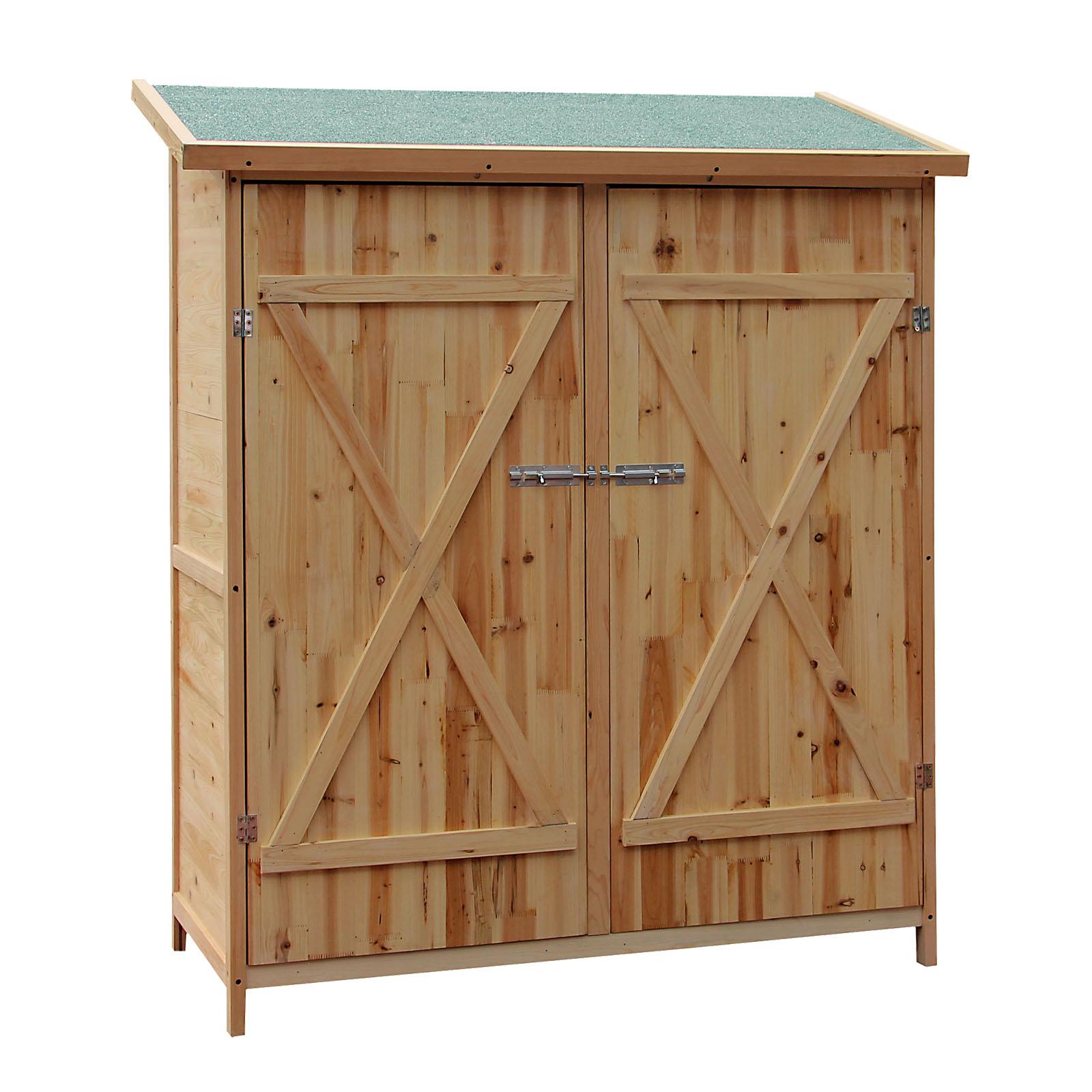 Cabane À Outils Bois détails sur abri de jardin bois xxl remise cabane pour outils armoire  stockage rangement