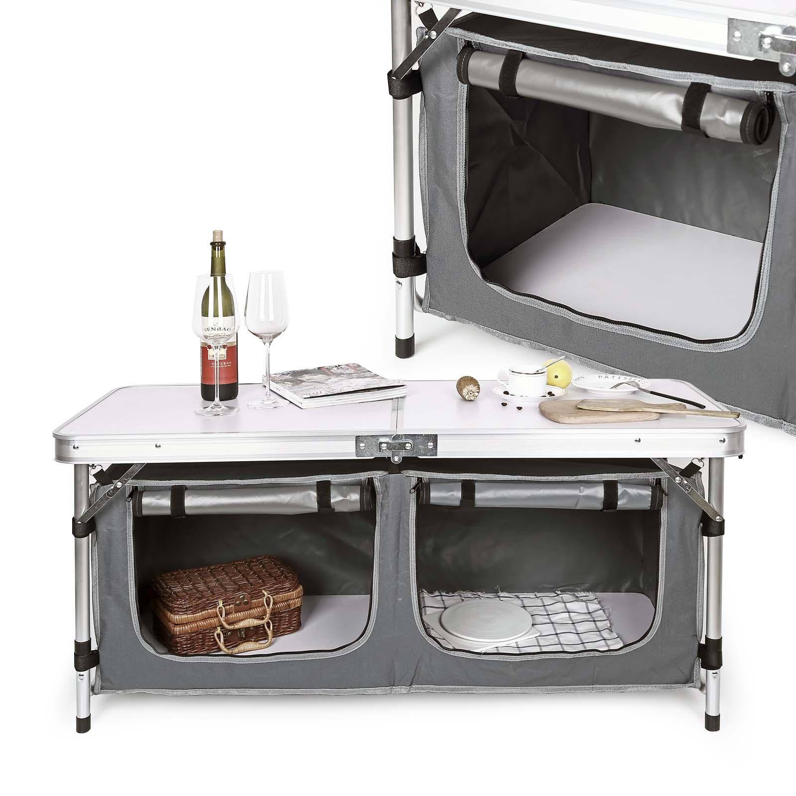 TTMobile Mobiletto cucina da campeggio pieghevole | eBay