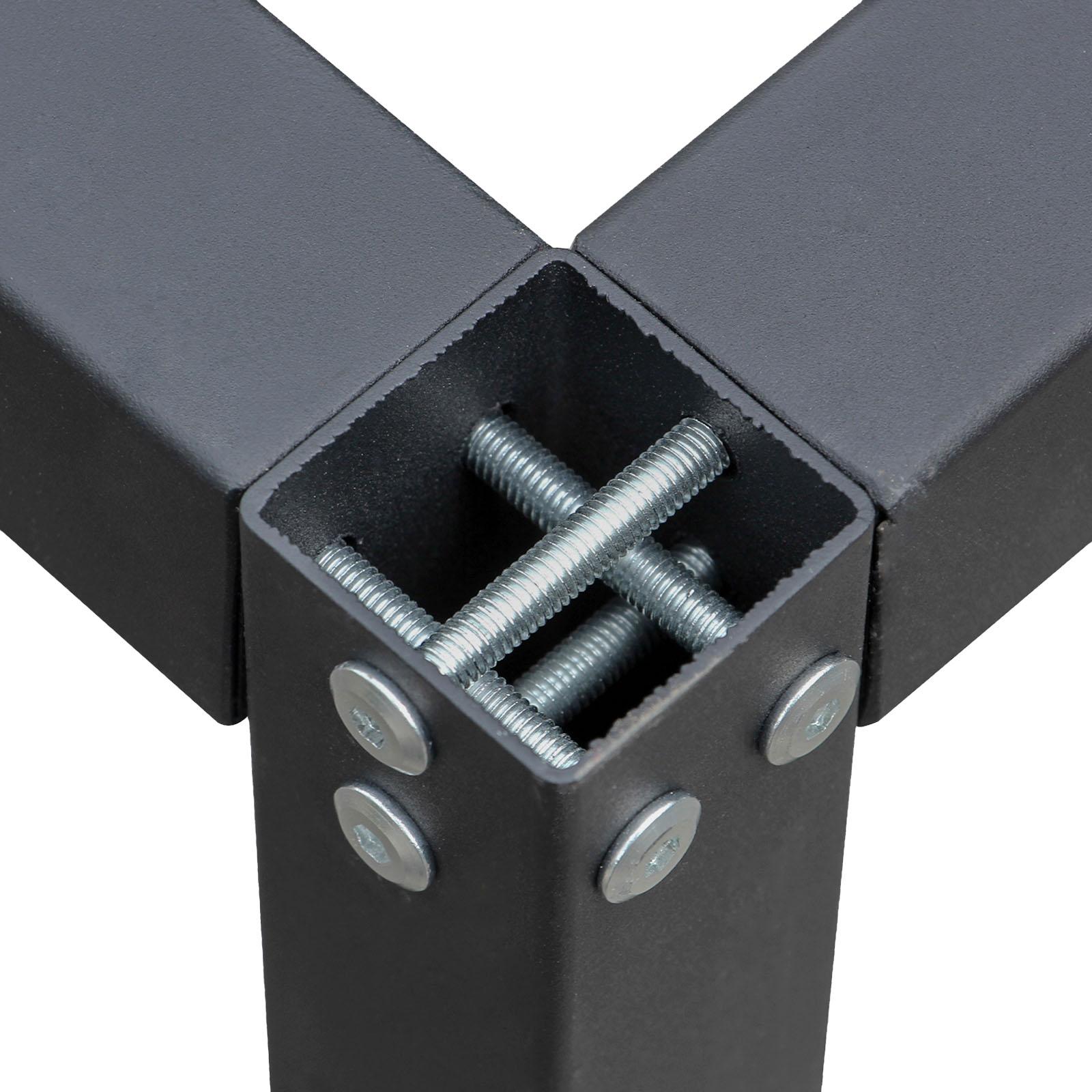 Construire Un Etabli Multifonction détails sur châssis fixe établi b50xl175xh80cm armature établi table  travail atelier support