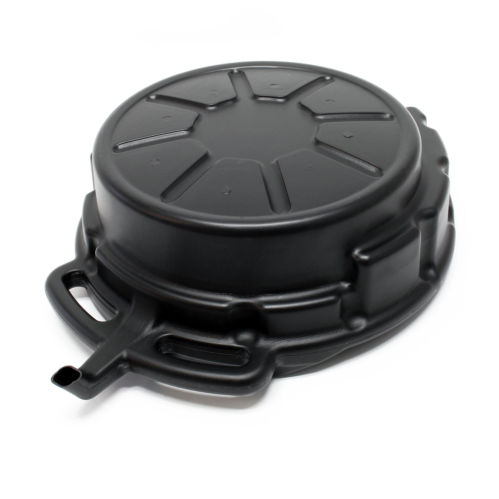 Oil Drain Pan With Spout 15l Drain Sump Container Oil Tray