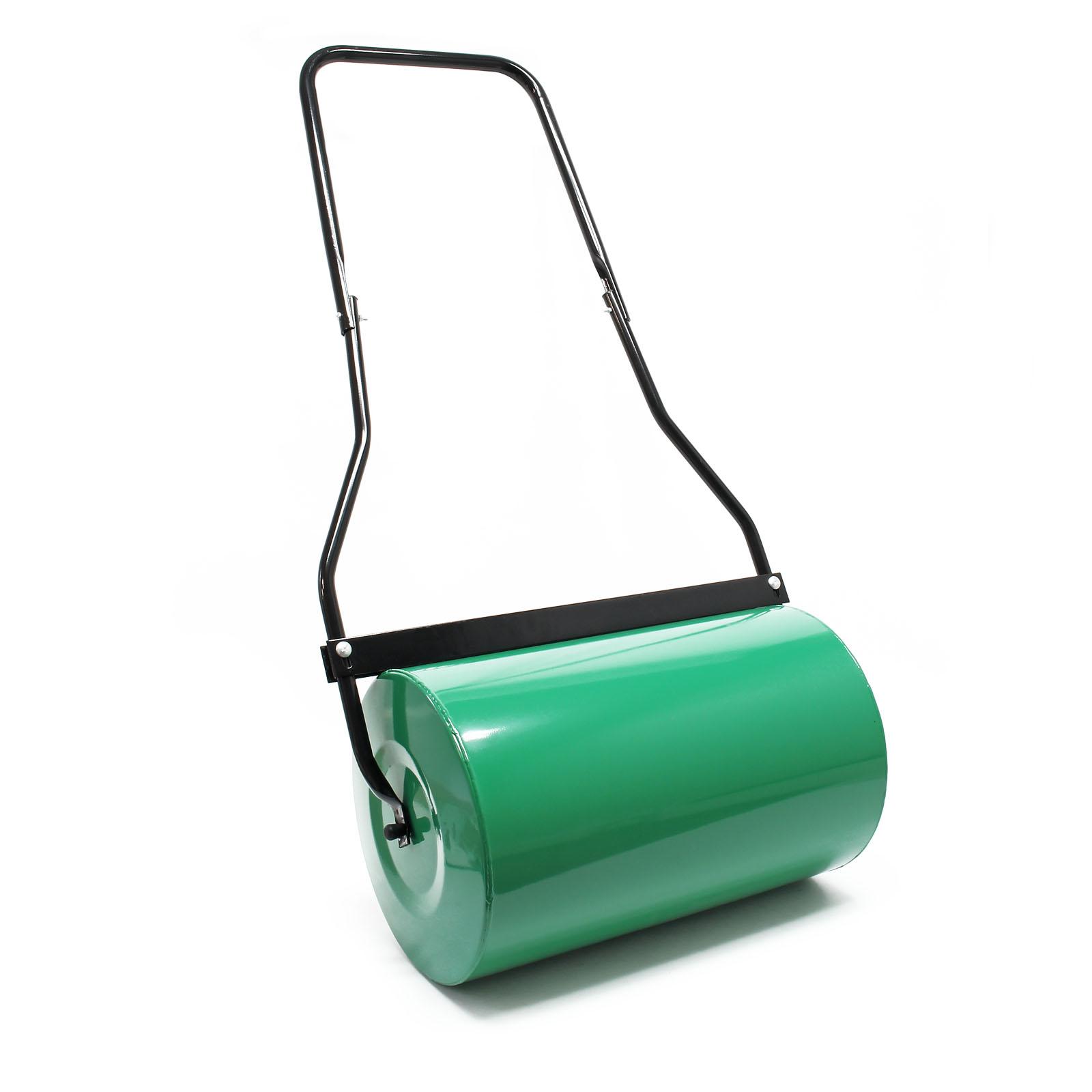 Water filled Garden Grass Roller 50cm 40l Lawn Land Roll Steel Drum