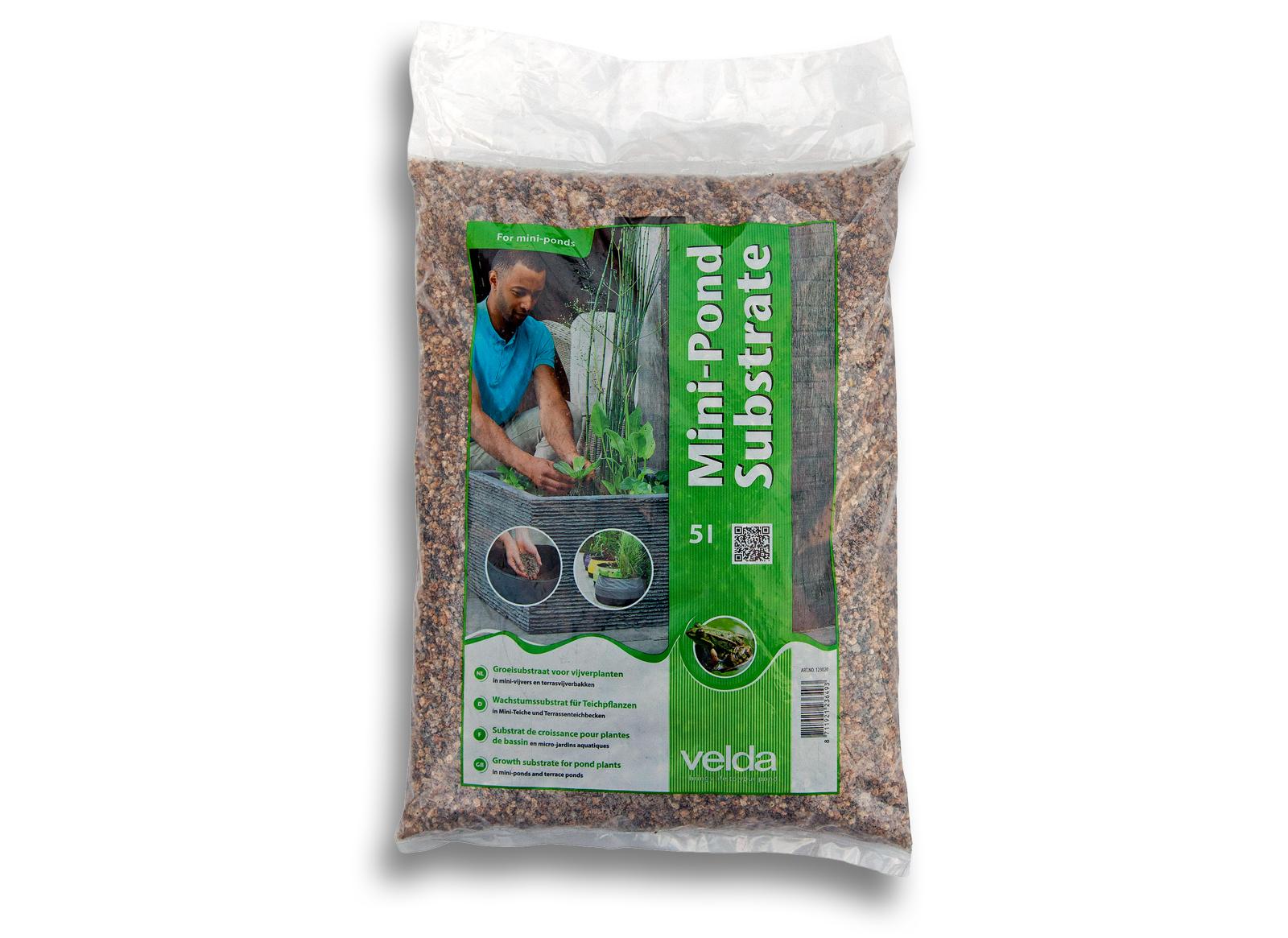 tt2 1 l velda miniteich substrat 5 l pflanzsubstrat substrat pflanzen miniteich ebay. Black Bedroom Furniture Sets. Home Design Ideas