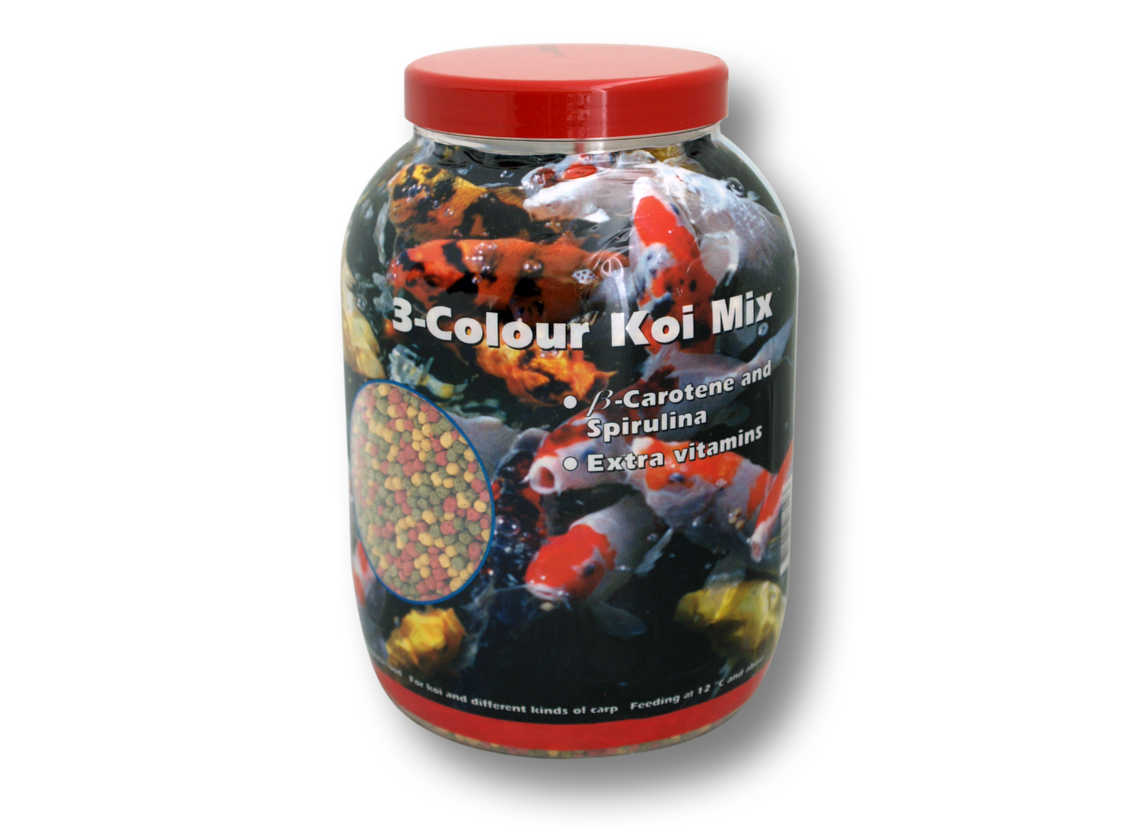Velda vt les aliments pour poissons 3 colour koi for Nourriture pour carpe koi