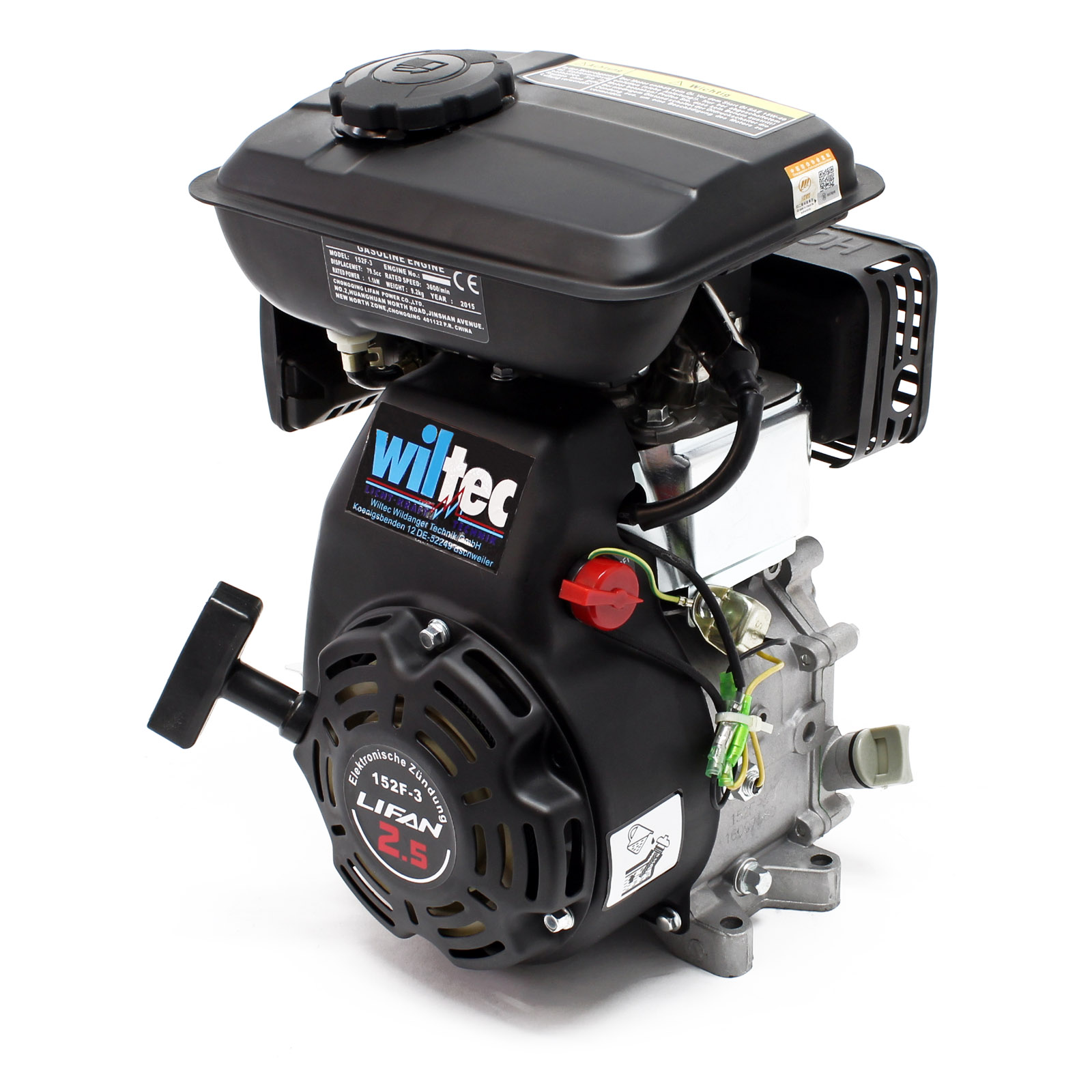 lifan 168 moteur essence 6 5cv lanceur reducteur 2. Black Bedroom Furniture Sets. Home Design Ideas