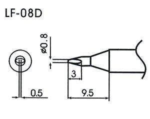 LF-08D Soldering Tip