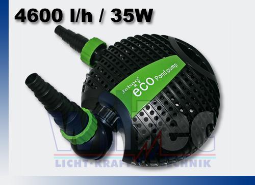 Eco 4600 energiesparpumpe pompa pompa per laghetto stagno for Pompa e filtro laghetto