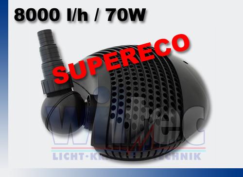 Bachlaufpumpe-Filterpumpe-ECO-70W-8000-l-h-3-2m-Teichpumpe-Wasserpumpe