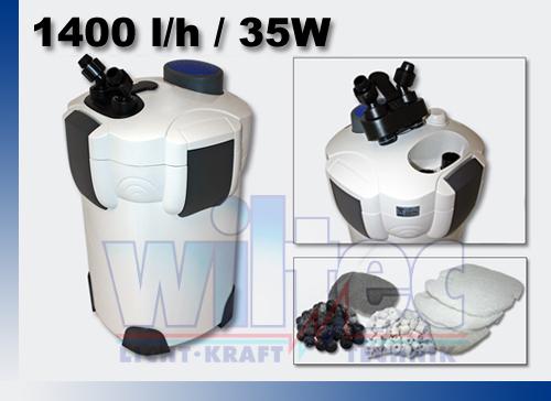 SUNSUN-Aquarium-Aussen-Filter-1400-l-h-3-Stufen-2m-Filtermaterial-Aussenfilter
