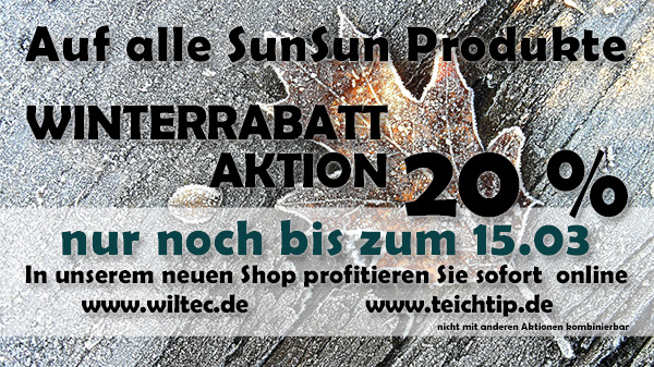 Winterrabatt Aktion 20%
